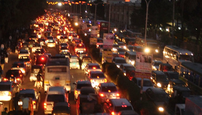 traffic at night by - photo #11